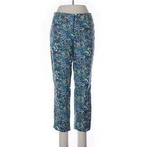Ann Taylor Loft The Riviera Pant Marisa Floral 10